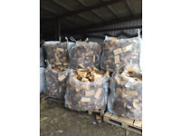 Logs/firewood for sale. Cubic metre bags of softwood, free delivery to local area