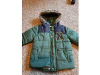 Boys winter coat age 3-4