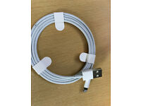 brand new original apple lightning to usb charging lead iphone 5s to present model
