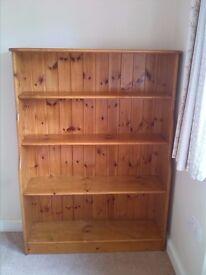 Pine Bookshelf/Display Unit