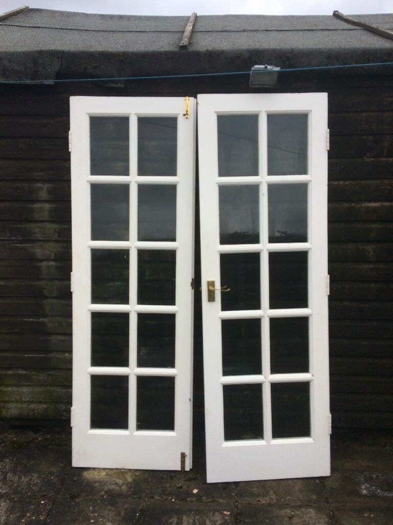 Hard Wood French Doors Used Internally But Could Be Used As