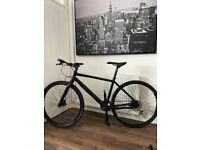 Cannondale Bad Boy lefty Hybrid Bike Black Med.size