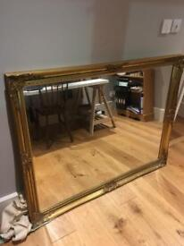 Large golden Mirror