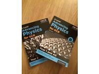 A Level Advancing Physics for OCR, B, third edition. Year 12 and 13.