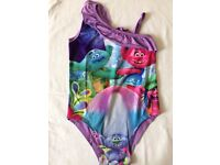 Girls Swimming Suit with Trolls movies heroes