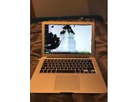 "8GB 13"" MacBook Air with a broken screen"