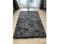 Thick Wolly brown rug