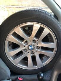 Bmw alloy wheels, 16 inch x4