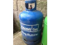 15kg 3 gas bottles for sale including Calour gas, flo., and Homesafe used but in good condition.