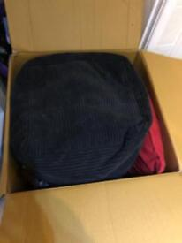 Cushions and Pouffe - Freecycle