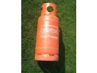 Calor Gas 19kg large gas bottle. FULL. £40
