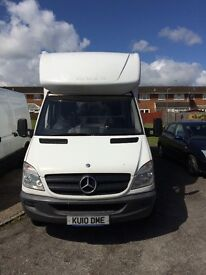 Mercedes van 3.5 tonne with tail lift