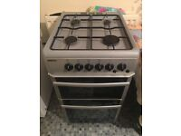 Beko gas Cooker gray, double overn cooker