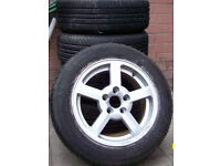 Volvo Alloy Wheels Set Of Five
