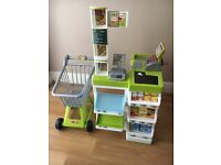 Smoby Supermarket with trolley