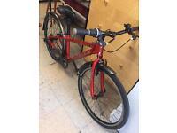 Carrera 7005 T6, aluminium frame bike