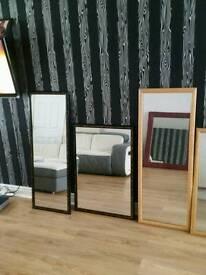 Ten pound each mirrors