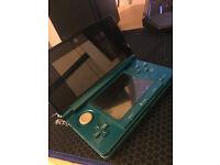 Nintendo 3DS - Aqua Blue [Like new condition]