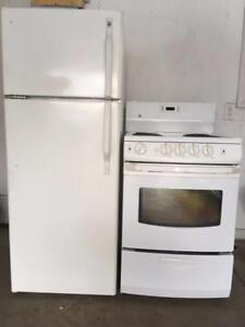 "24"" Apartment size Fridges & Stoves $300 ea./up. 306 373 0053"