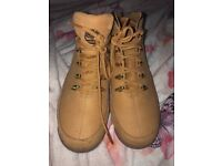 Men timberland boots size 8