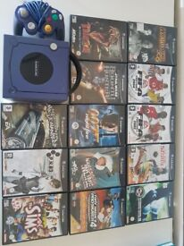 Nintendo Gamecube with 1 controller and 13 games