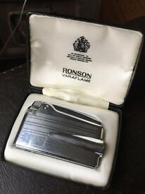 Ronson Varaflame Lighter in box working