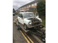 Car trailer mini mg kit car nova corsa