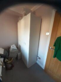 2 IKEA wardrobes