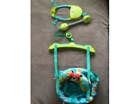 Bright starts door bouncer - barely used