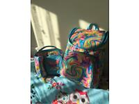 Smiggle backpack and lunch box