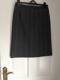 Anthony Symonds for Autograph Taylored Dark Denim Skirt - size 10