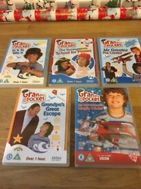 5 x Grandpa in my Pocket DVD's