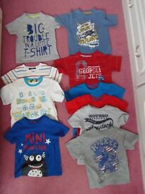 Boys t-shirts age 2-3 years