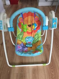 Fisher Price baby swinging chair