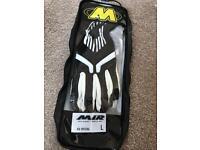 BRAND NEW- MIR K8 kart gloves- large
