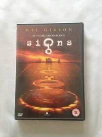 Signs Movie DVD