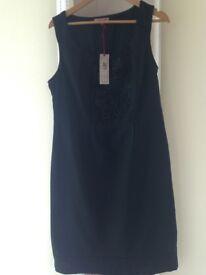 M&S Dark Green Shift Dress, size 14