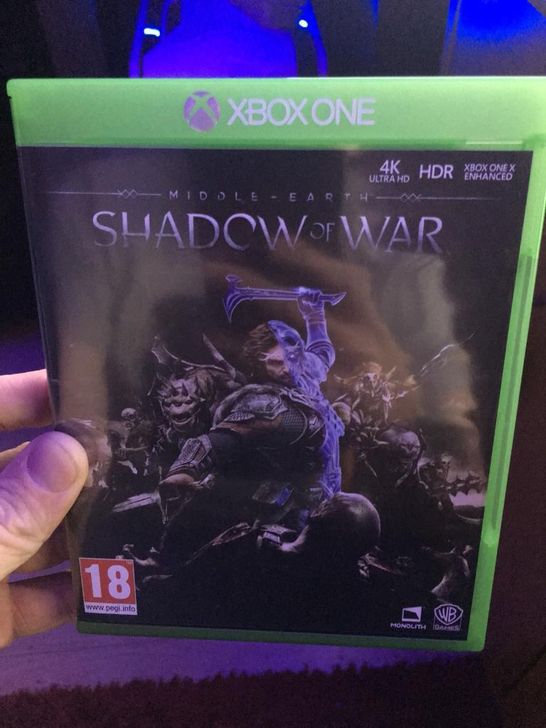 Shadow of War Xbox One Used Once