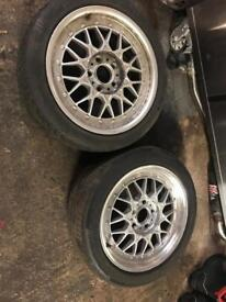2x RC041 alloys 5x120 7,5j 17""