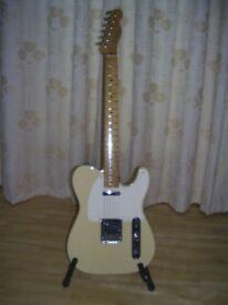 Fender Telecaster Baja Custom Shop Design With Gator Case