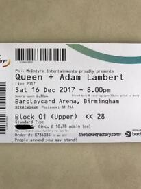 Queen Concert Tickets. SOLD OUT