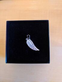Sterling Silver angel wing necklace pendant
