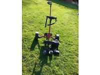 Hillybilly Golf Trolley and Battery for sale