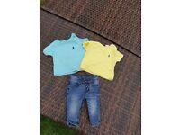 ralph lauren 2x tshirts & jeans