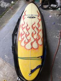 "Surf board fluid juice 5'11"""
