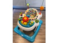 Immaculate Babylo baby walker with removable toys