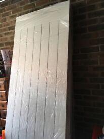 Brand new internal white doors