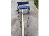 Shetland cart and harness