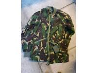 Genuine army surplus jacket and fleece