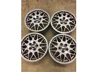 "Vw Corrado vr6 mk3 Golf bbs 15""alloy wheels"